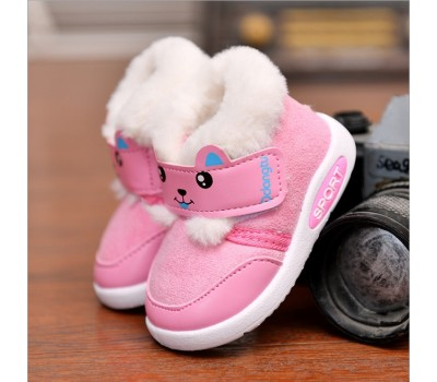 Теплые ботиночки для малышек