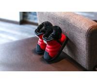 Зимние угги с прорезиненным носком