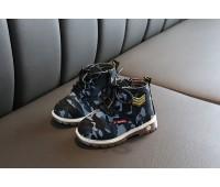 Ботинки в стиле милитари