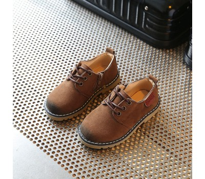Оригинальные туфли, эко-замш