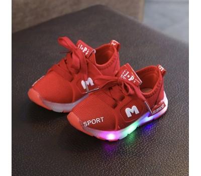Легкие кроссовки с LED подсветкой