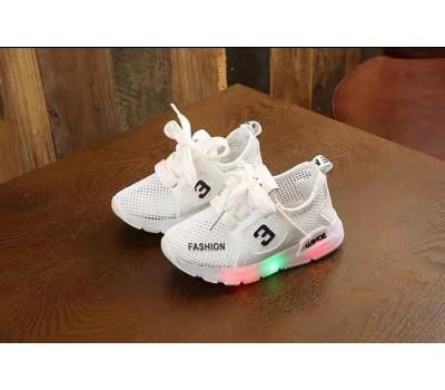 Сетчатые кроссовки  с LED подсветкой