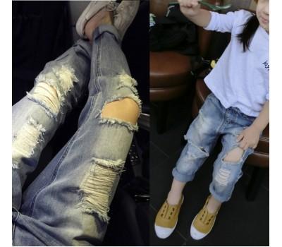 Крутейшие джинсы-рванки