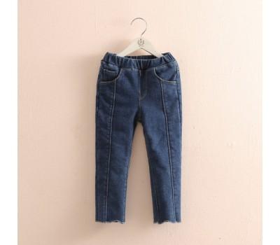 Стильные джинсы на плюше
