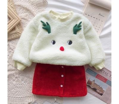 Очень крутой теплый костюм к новогодним праздникам