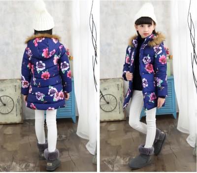 Куртка-пальто в цветах