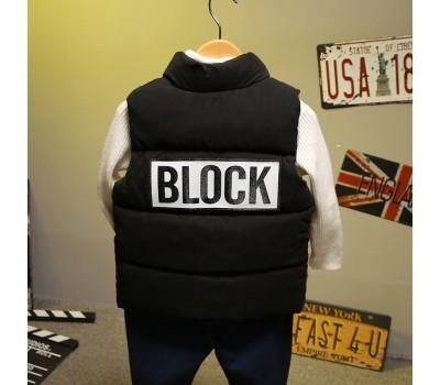 """Жилетка """" BLOCK """""""
