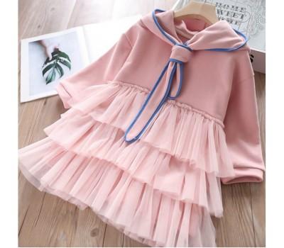Коттоновое нарядное платье