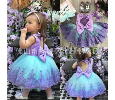 Красивое  нарядное платье с бантами