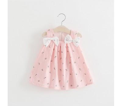 Легкие летние платья с бантиками