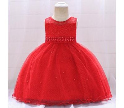 Нарядное платье на малышек