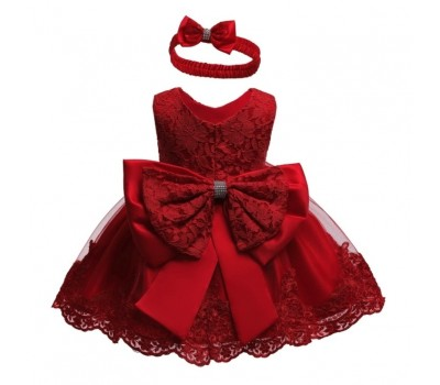 Нарядное платье с повязочкой