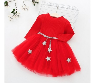 Нарядное платье со звездами