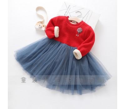 Нереально крутое теплое платье