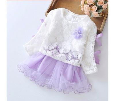 Платье со съемной кофтой