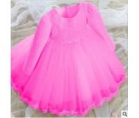 Праздничное платье с бантом