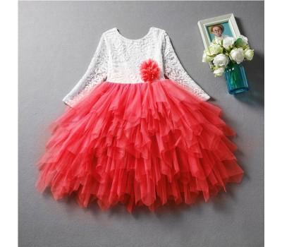 Шикарное нарядное пышное платье