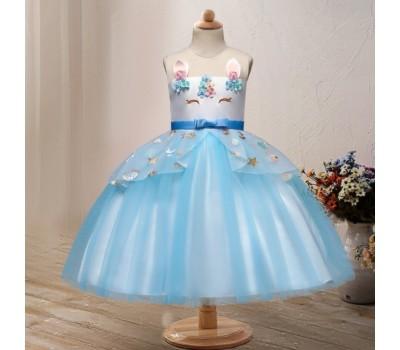 Шикарное яркое нарядное платье