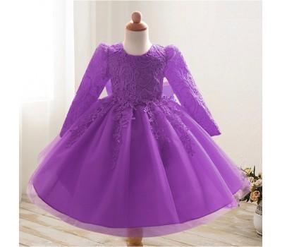 Платье с цветочными лентами