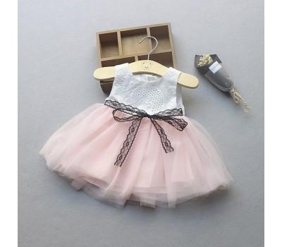 Красивое нарядное платье на малышек