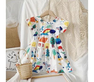 Красочное платье для девочки