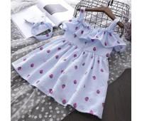 Легкое платье с солохой