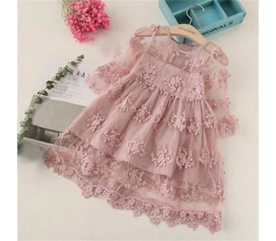 Легкое платье на девочку