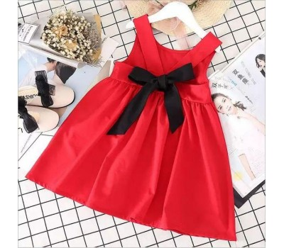 Летнее  платье на малышек