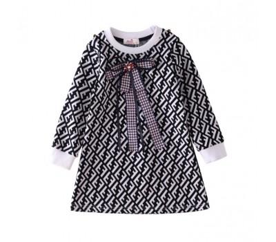 Шикарное нарядное платье с бантиком