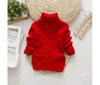 Теплый свитерок, красный