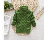 Теплый свитерок, зеленый