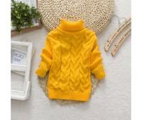 Теплый свитерок, желтый