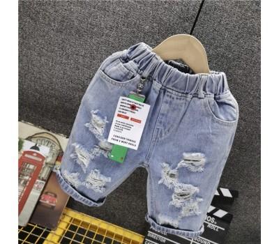 Стильные джинсовые шорты с брелком