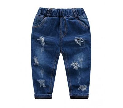 Стильные теплые джинсы