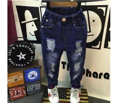 Удобные джинсы-рванки