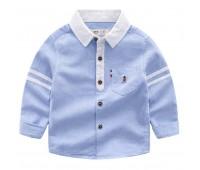 Летняя рубашка, голубая