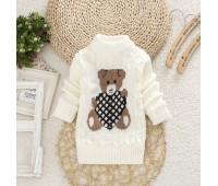 Теплый свитер с мишкой