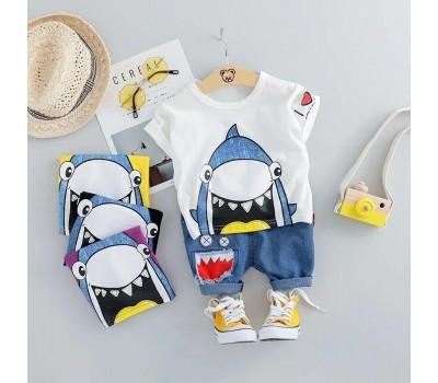 Костюм с акулой для мальчиков