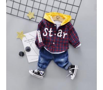 Стильный костюм-двойка, Star