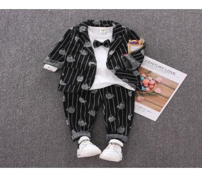 Стильный костюм-тройка для маленького модника