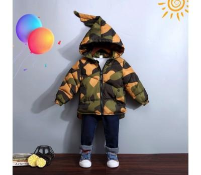 Демисезонная милитари куртка
