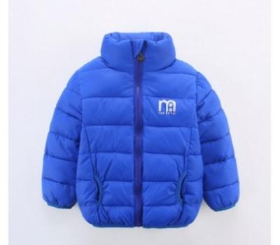 Спортивная куртка на мальчика, синяя