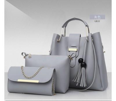 Классические женские сумки в наборе 3 в 1